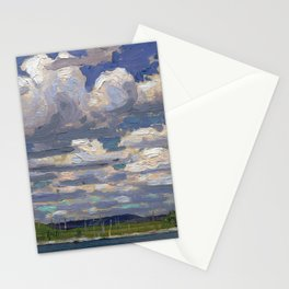 Tom Thomson - Summer Day - Canada, Canadian Oil Painting - Group of Seven Stationery Cards