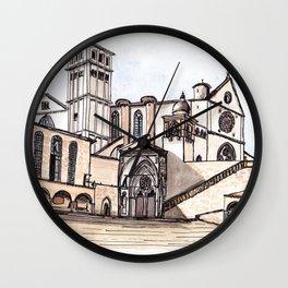 Basilica San Francesco d'Assisi Wall Clock