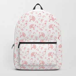 Happy thanksgiving day pattern Backpack