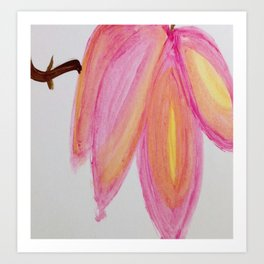 Tree Blossoms Art Print