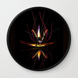 Abstract perfection - Magical Light and Energy Wall Clock
