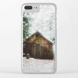 The Perfect Cabin Clear iPhone Case