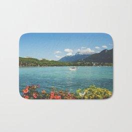 Annecy lake Bath Mat