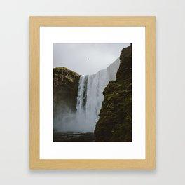 Skogafoss Iceland Framed Art Print