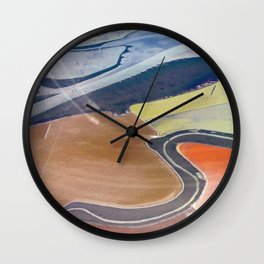 South Bay Swirling Wall Clock