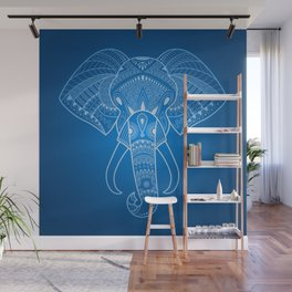 Serious Elephant Two Wall Mural
