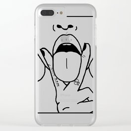 (Tr)Eat Your Girl Right Clear iPhone Case