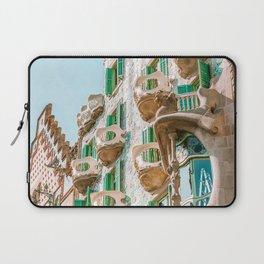 Casa Batllo, Antoni Gaudi Architecture, Barcelona City Print, House Batllo, City Architecture Buildings, Travel Print Laptop Sleeve