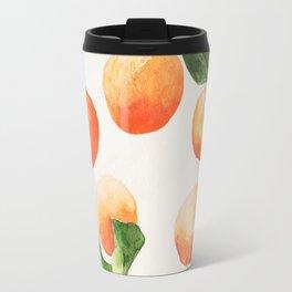Satsumas Watercolor Painting Travel Mug