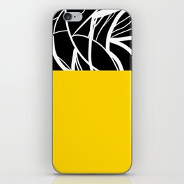 Yellow Zebra iPhone Skin