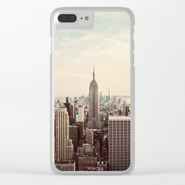 Empire Views Clear iPhone Case