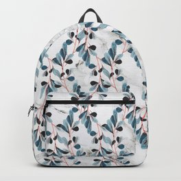 Botanical Marble Backpack