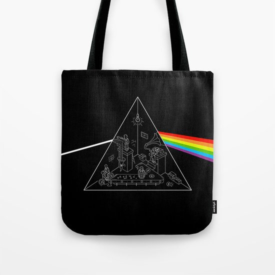 The Dark Side of the Process Tote Bag