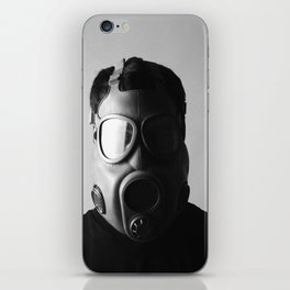 Czech M10M Gasmask iPhone Skin