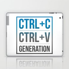 Copy and Paste Generation Laptop & iPad Skin