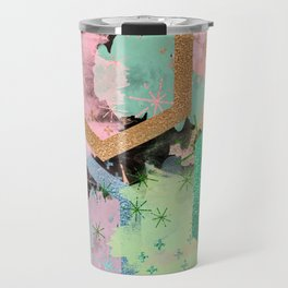 fun with collage and colors Travel Mug