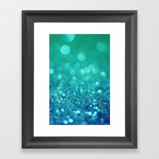 Bubble Party Framed Art Print