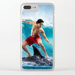Fantastic Trip Clear iPhone Case