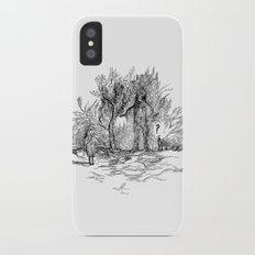 Creatures of nature iPhone X Slim Case