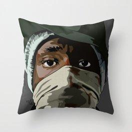 Mos Def the new danger Throw Pillow