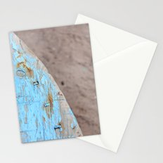 Turquoise Beach Wood I Stationery Cards