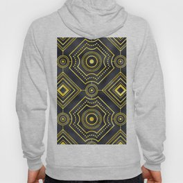 A Very Private Affair Art Deco Pattern Hoody