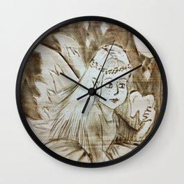 Pixy Tooth Fairy Wall Clock