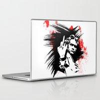 beethoven Laptop & iPad Skins featuring Beethoven FU by viva la revolucion