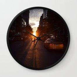 manhattanhenge Wall Clock