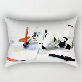 Drawing Droids Rectangular Pillow