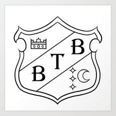 Barton Crest Art Print