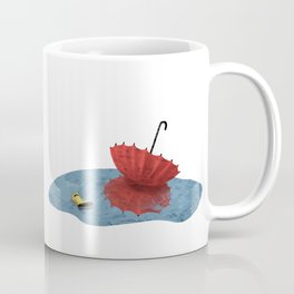 Umbrella and Friend Coffee Mug