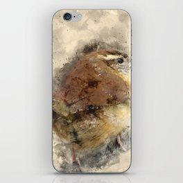 Carolina Wren iPhone Skin