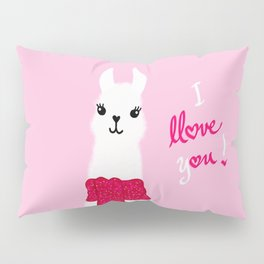 Llama Llove You Pillow Sham