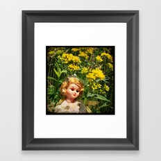 Princess Goldenrod Framed Art Print