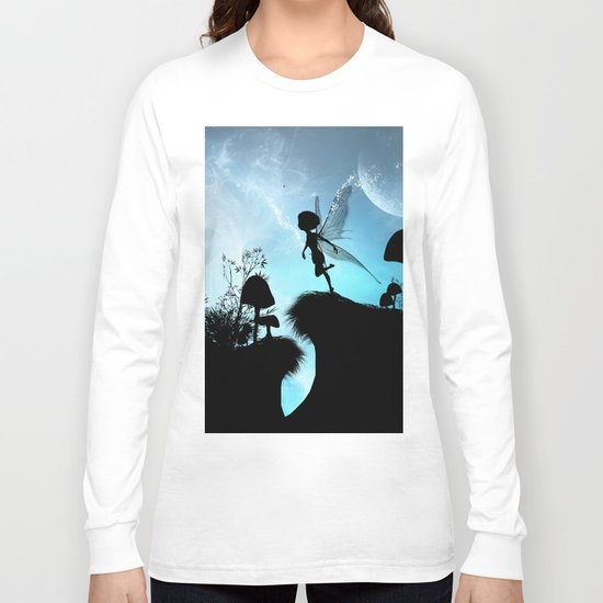 Fairy silhouette Long Sleeve T-shirt