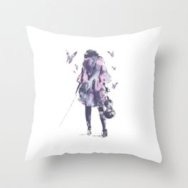 Entourage  Throw Pillow