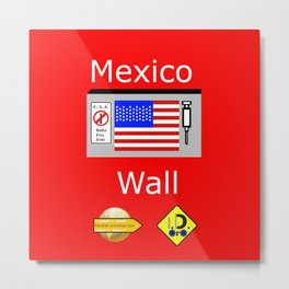 Mexico Wall Metal Print