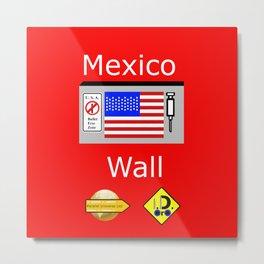 Mexico Wall Metal Print