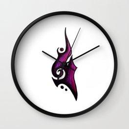Grace / نعمة  (purple) Wall Clock