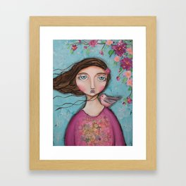 Shelter Me Framed Art Print