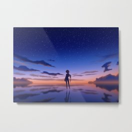 The First Child Metal Print