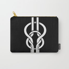 white knot Carry-All Pouch