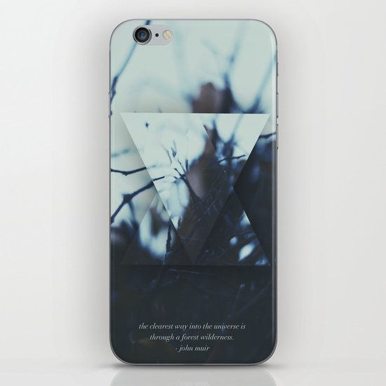 The clearest way. iPhone Skin