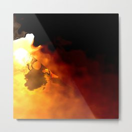 From Darkness to Light Metal Print