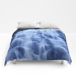 Crabtree Falls at Golden Hour Comforters