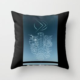 A.M.A.S.S. Throw Pillow