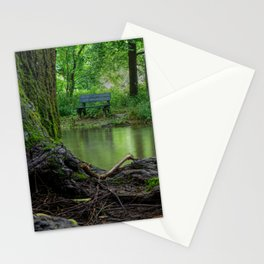 A Creek, A Tree and A Bench Stationery Cards