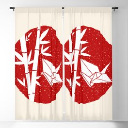 Simple Bamboo and Origami Blackout Curtain