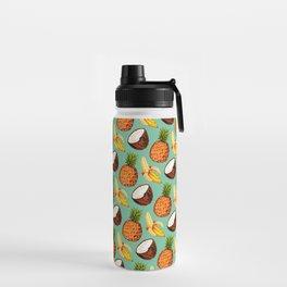 Banana, Coconut, Pineapple - Pattern Water Bottle